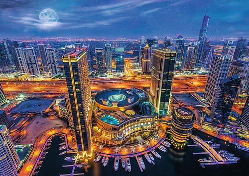 Rompecabezas Trefl X 2000 Piezas - Luces De Dubai