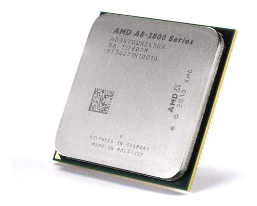 Imagen 1 de 2 de Procesador Amd Apu A8 3870k 4 Nucleos 3ghz Socket Fm1 - Oem