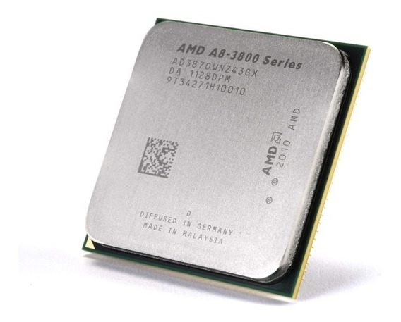 Procesador Amd Apu A8 3870k 4 Nucleos 3ghz Socket Fm1 - Oem
