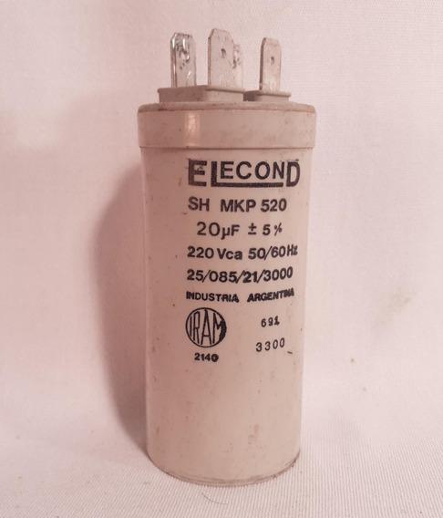 Capacitor De 20 Uf (ref 1076 )