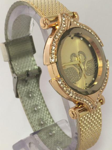 Promoção Relógio Swan Heart Para Mulheres De Bom Gosto