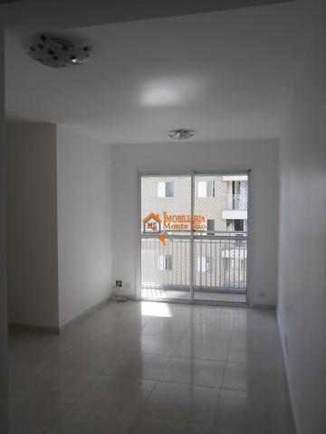 Imagem 1 de 22 de Apartamento Com 3 Dormitórios À Venda, 64 M² Por R$ 320.000,00 - Ponte Grande - Guarulhos/sp - Ap2736