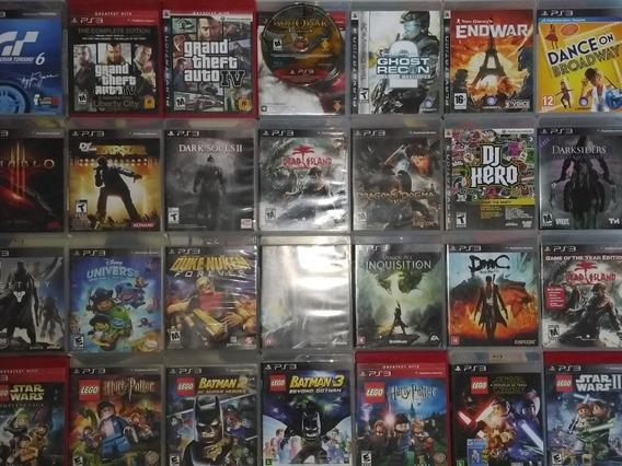 4 Jogos Originais De Ps3 Mídia Física Original Playstation 3