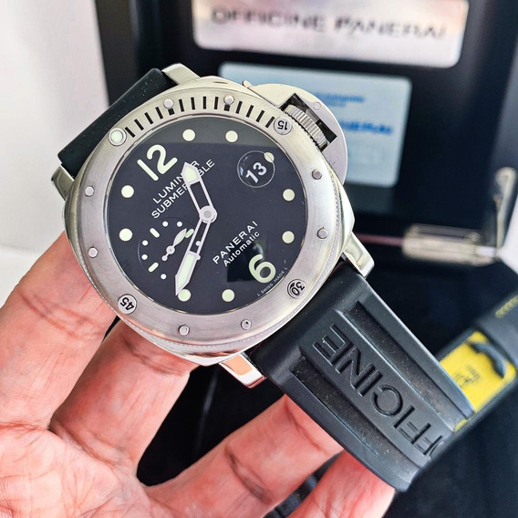Panerai Luminor Submersible Completo Impecável