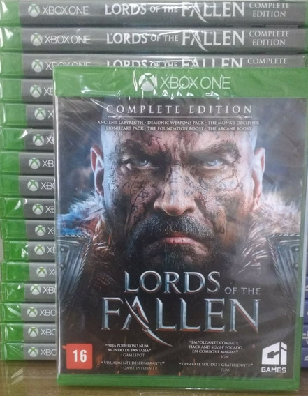 Lords Of The Fallen Complete Ed. Xbox One Fisica Português