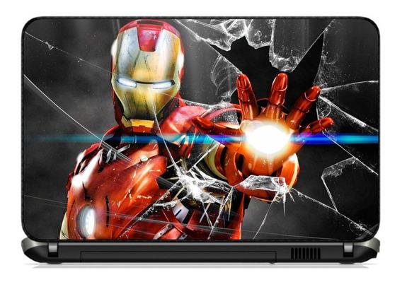Skin Notebook Netbook Homem De Ferro Vingadores