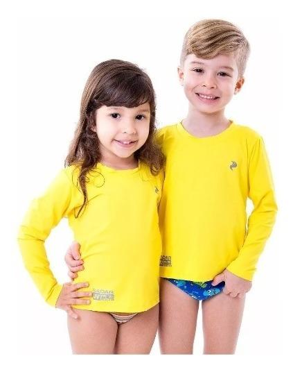 Camisa Infantil Proteção Uv Solar Uvb Fator 50 Térmica