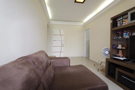Apartamento Em Encruzilhada, Santos/sp De 58m² 1 Quartos À Venda Por R$ 255.000,00 - Ap151039
