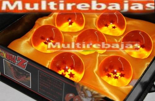 Caja De Esferas Del Dragón Ball Medianas