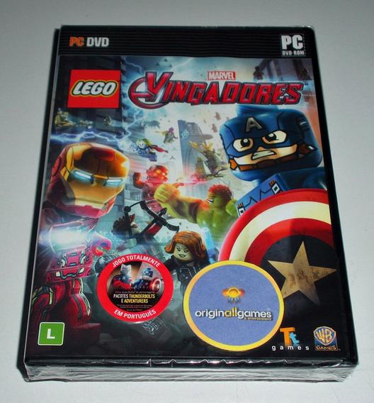 Lego Vingadores ¦ Jogo Pc Original Lacrado ¦ Mídia Física