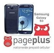 Samsung Galaxy S3 S Iii 16gb (i535) Para Page Plus - Pebble
