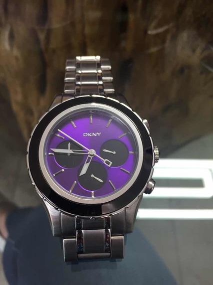 Reloj Unisex Dkny Morado