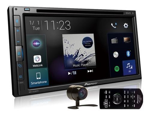 Dvd Pioneer Avh-z5280tv 7 Polegadas 2din Bluetooth Touch Weblink Espelhamento Android iPhone Tv Digital Com Câmera De Ré