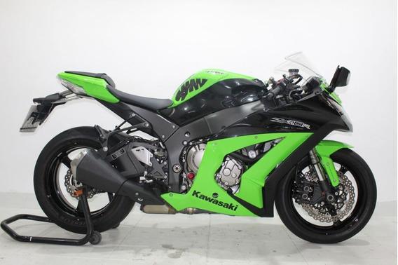 Kawasaki Ninja Zx 10 R Abs 2012 Verde