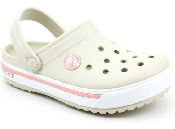 Crocs Infantil Clog Crocband 2.5 Kids Bege