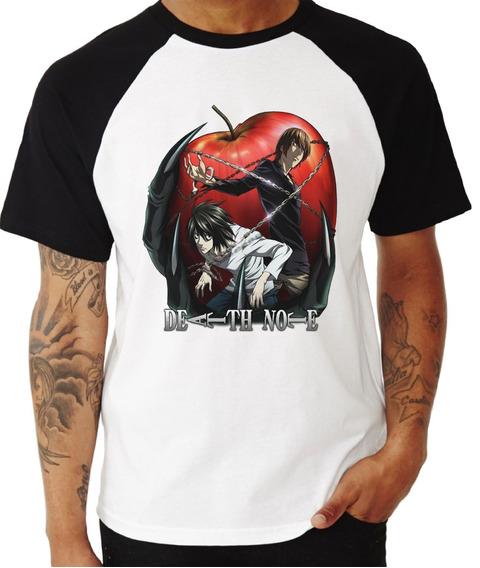 Camisa Camiseta Death Note Anime Ref 08