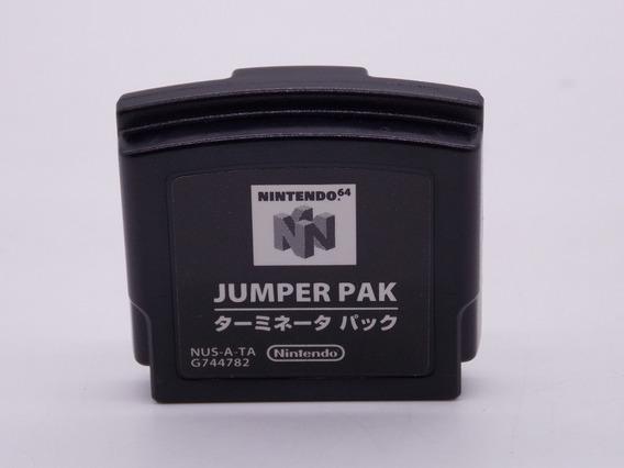 Jumper Pak Original Para Nintendo 64 Semi Novo