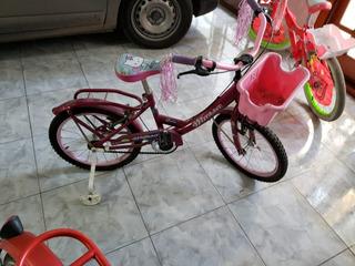 Bicicleta Nena Niña Cross R12 +ruedas +canasto