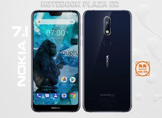Nokia 7.1 Dual Sim 4gb Ram 64gb Dual 12mp Lhuellas Octacore
