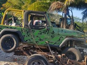 Jeep Wrangler Se 5vel Techo Lona Austero Mt 2001