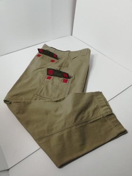 Pantalón Hombre Eddie Bauer 40 X 30 Convertible Short Kaki