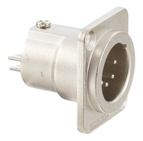 Amphenol Audio Ac5mdz Xlr 5 Polos Macho, Brida En D, Contact