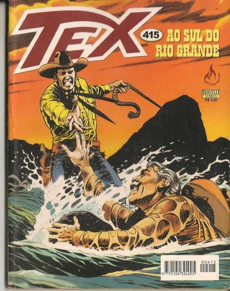 Hq Tex Willer Nº415 Ao Sul Do Rio Grande Mythos Editora