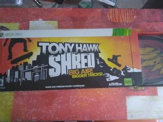 Tony Hawks Shred Xbox 360 Completo En Caja