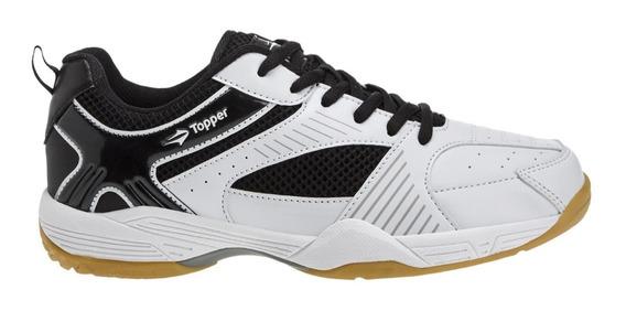 Zapatillas Topper Magnus 2 Tenis Indoor Bla/neg Unisex