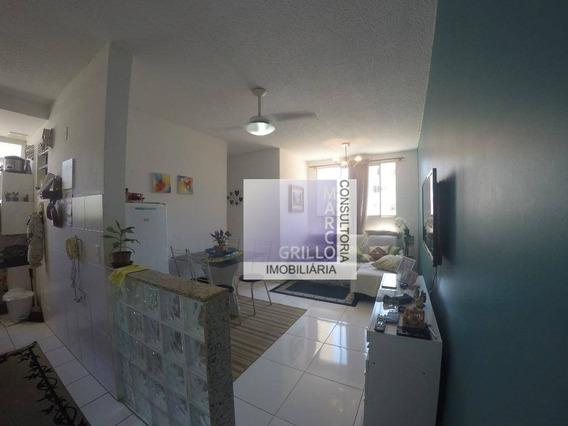 Apartamento Com 3 Dormitórios À Venda, 54 M² Por R$ 210.000,00 - Vargem Pequena - Rio De Janeiro/rj - Ap0233