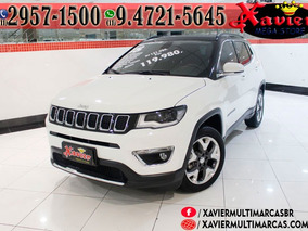 Jeep Compass Limited Branco 2018 Financiamento Próprio 3822