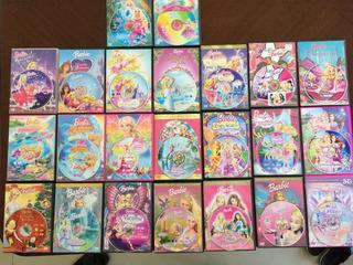 Dvd Barbie Originales