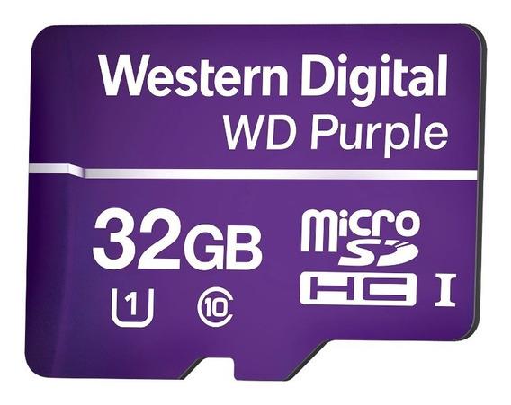 Cartão De Memória 32 Gb Para Gravações Câmeras Intelbras