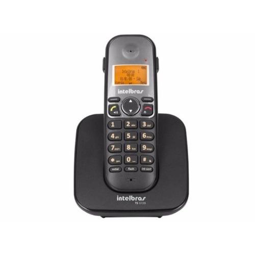 Imagem 1 de 3 de Telefone Fixo Sem Fio Intelbras Ts 5120 Entrada Headset
