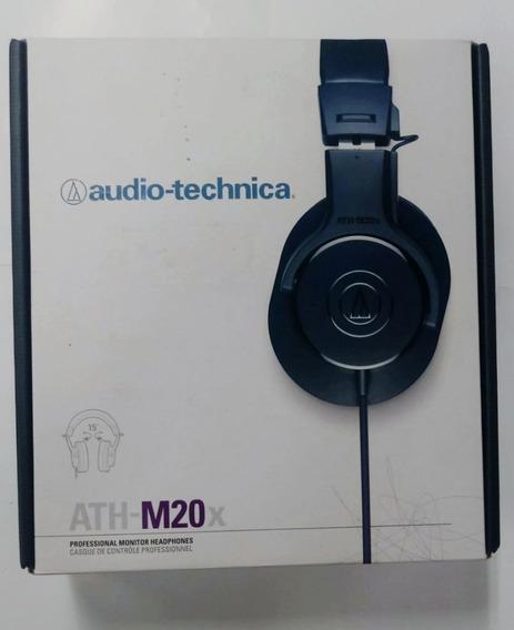 Fone Audio Technica Ath-m20x -profissional
