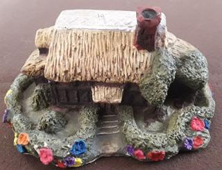 Casa Chosa Cabaña Miniatura
