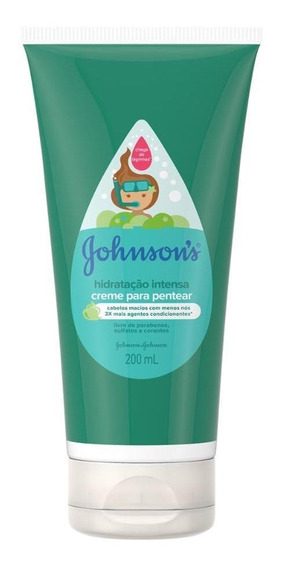 Creme Para Pentear Johnsons Baby Hidratação Intensa 150ml