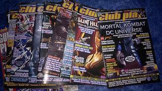 Lote Revistas Club Play