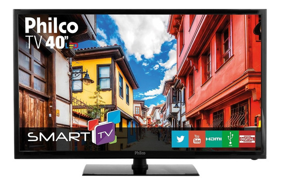 Smart Tv Philco Led 40 Ph40r86dsgw Bivolt