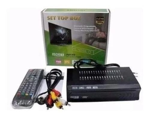 Set Top Box - Conversor E Receptor Digital Full Hd