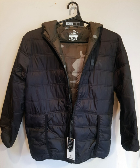 Campera Rip Curl. Reversible. Talle 14. Inflable