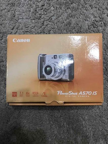 Câmera Digital Canon A570 Is Usada