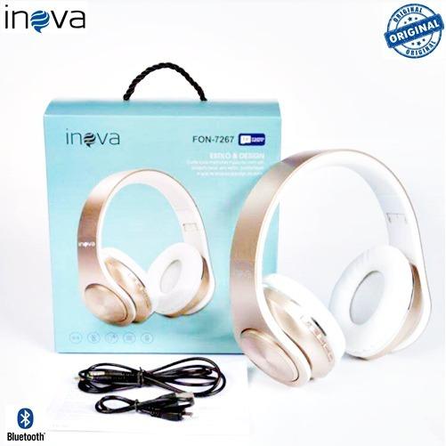 Fone De Ouvido Bluetooth Sem Fio Alto Padrão Inova 7267