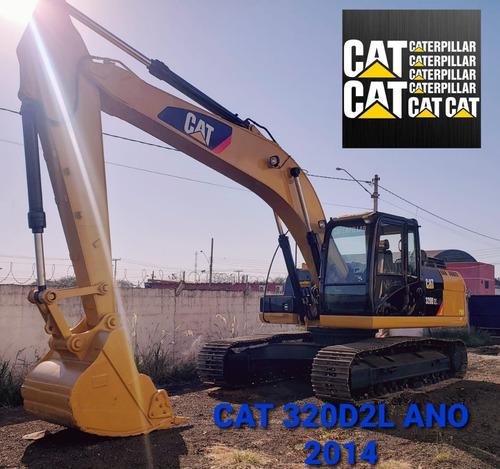 Imagem 1 de 3 de Escavadeira Caterpillar 320d2l