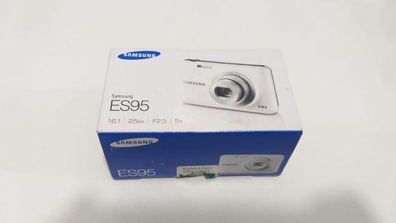 Câmera Digital Samsung Es95 Vermelha Nova Sem Bateria