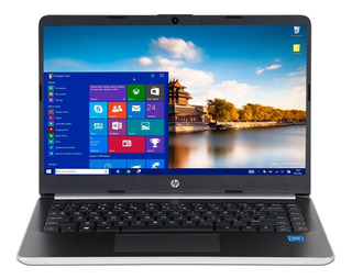 Laptop Hp Core I5 1035g4 12gb Ssd 128gb Pantalla 14 Usb