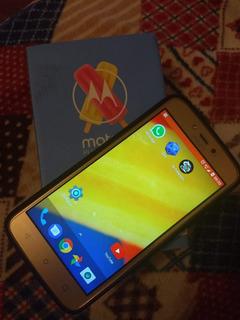 Celular Moto C Plus Dourado Na Caixa - Quadcore Tela 5