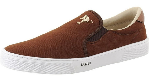 Sapatênis Slip On Masculino Polo Joy Iate