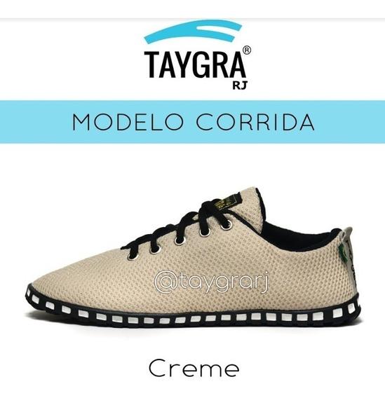 Tênis Taygra Modelo Corrida Comfort Creme