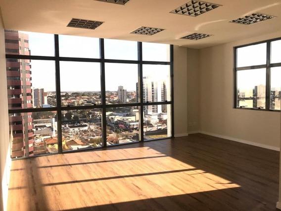 Sala Para Alugar, 37 M² Por R$ 1.500/mês - Centro - São José Dos Pinhais/pr - Sa0100